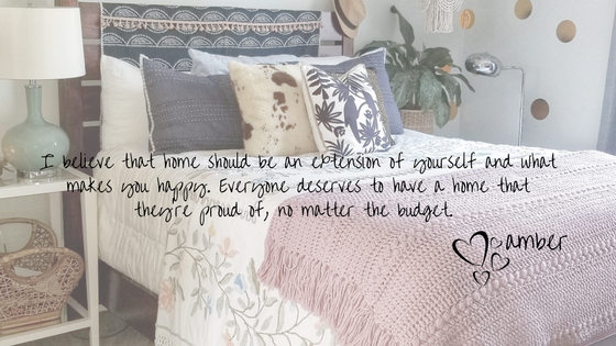 I believe that home should be an extension of yourself and what makes you happy! Everyone deserves to%2